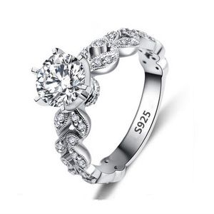 Jewelry - 🆕S925 1.5CT Engagement Ring